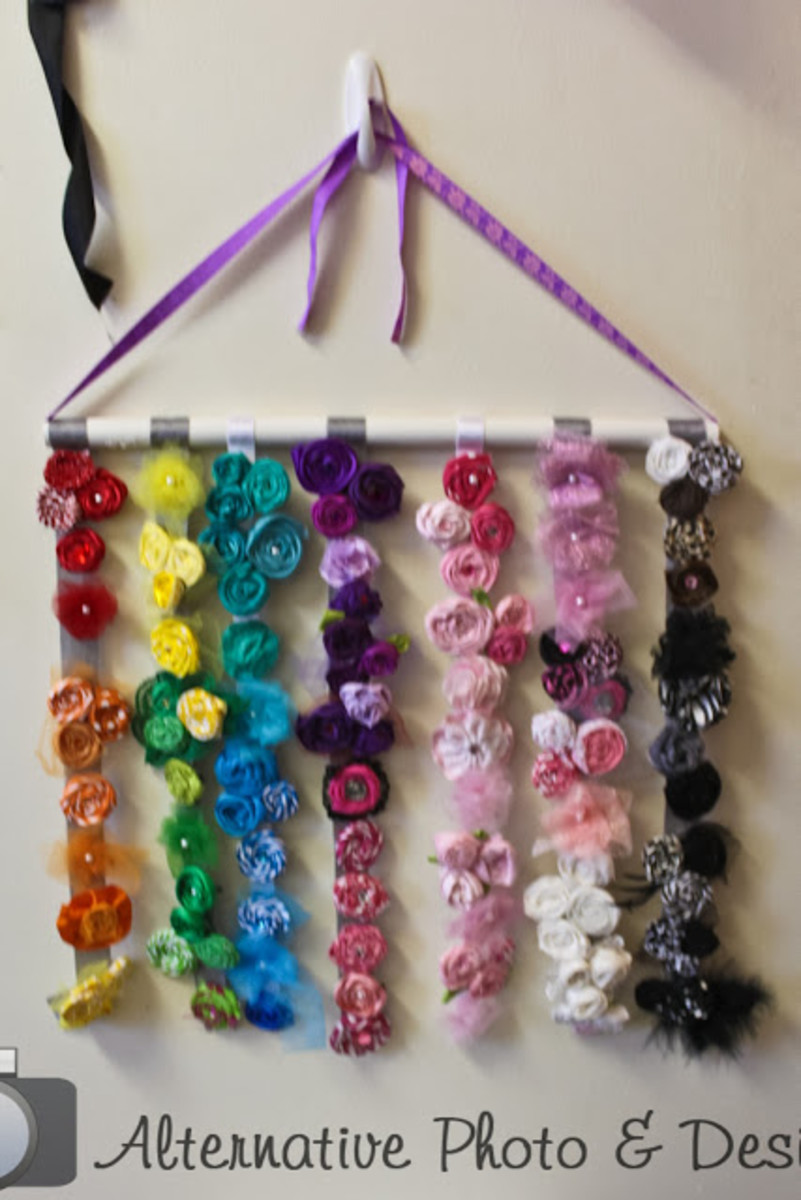 5 Ways to Organize Hair Clips