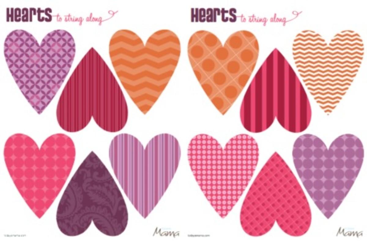 heart printable template_thumbnail