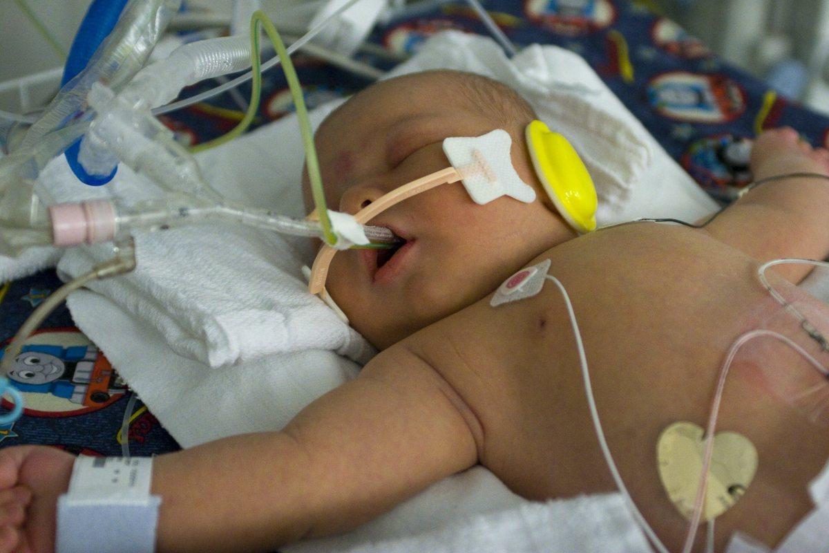 Wyatt in the hospital