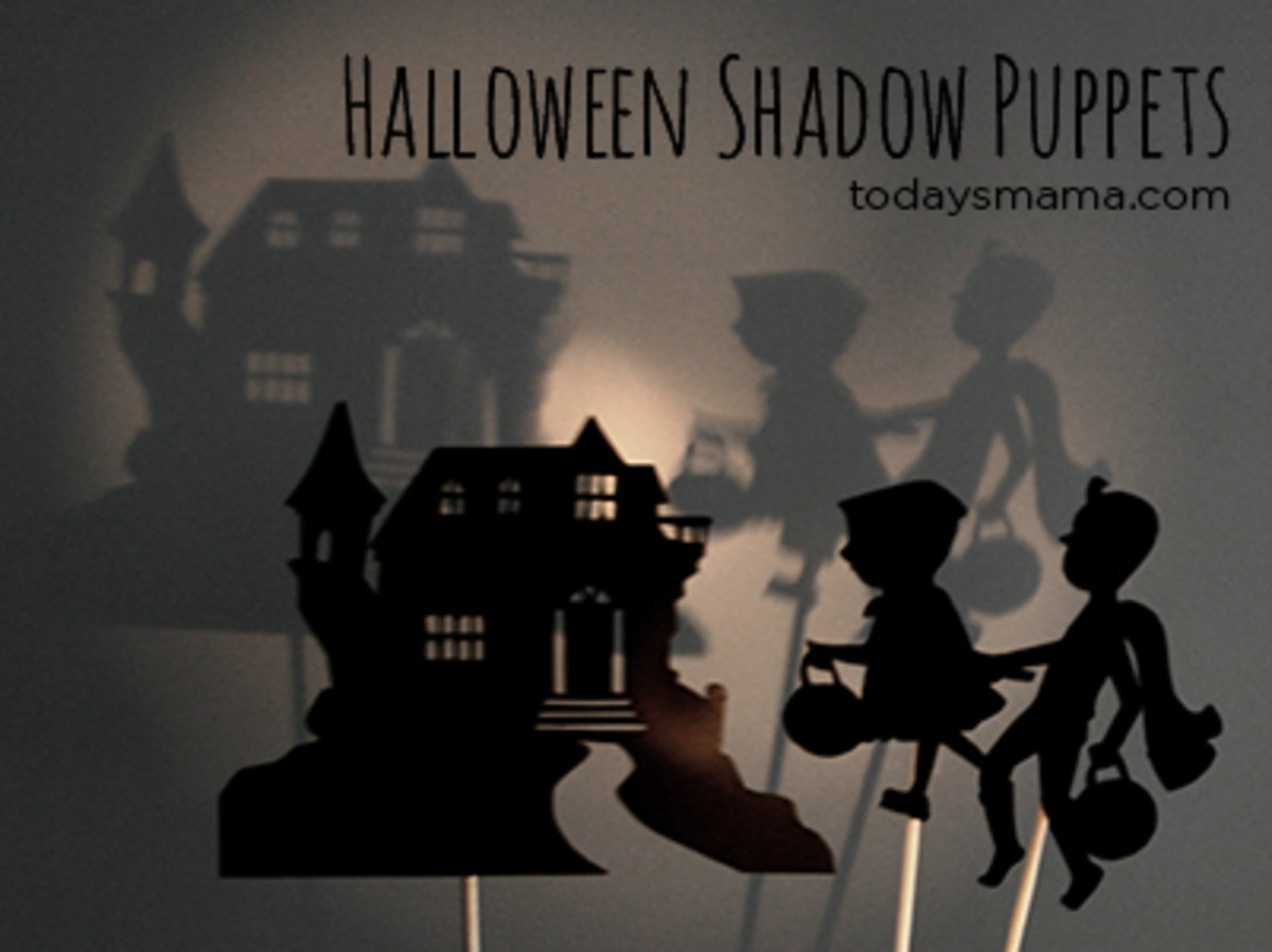 Halloween Shadow Puppet Printables - TodaysMama.com