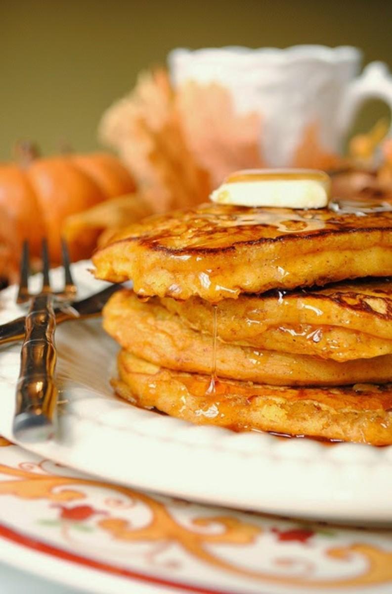 Our Favorite Fall Food Recipes Pumpkin Pancakes