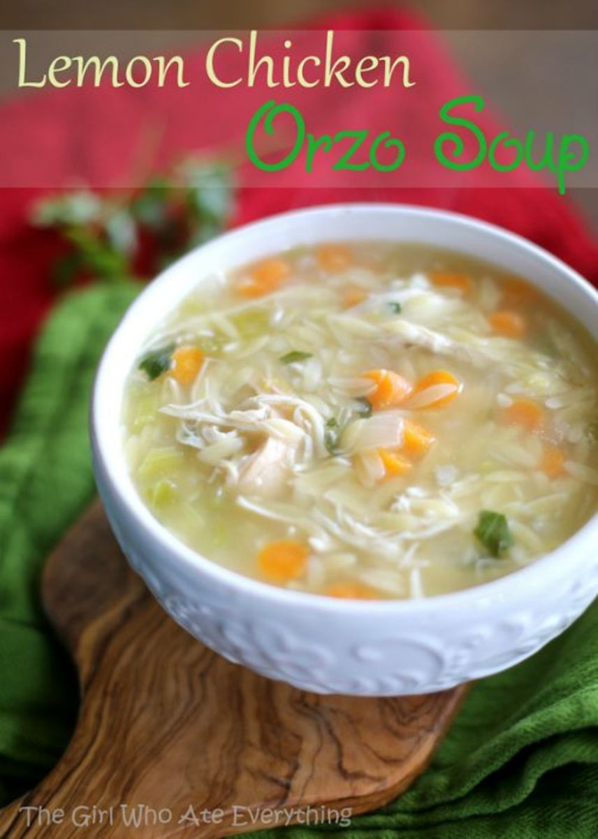 Our Favorite Fall Food Recipes Lemon Chicken Orzo Soup