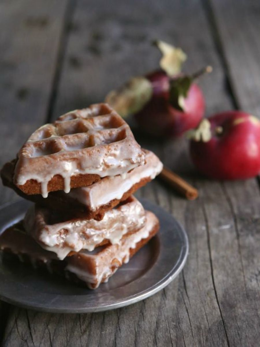 Our Favorite Fall Food Recipes Apple Fritter Waffle Doughnuts
