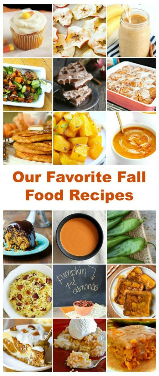 Our Favorite Fall Food Recipes