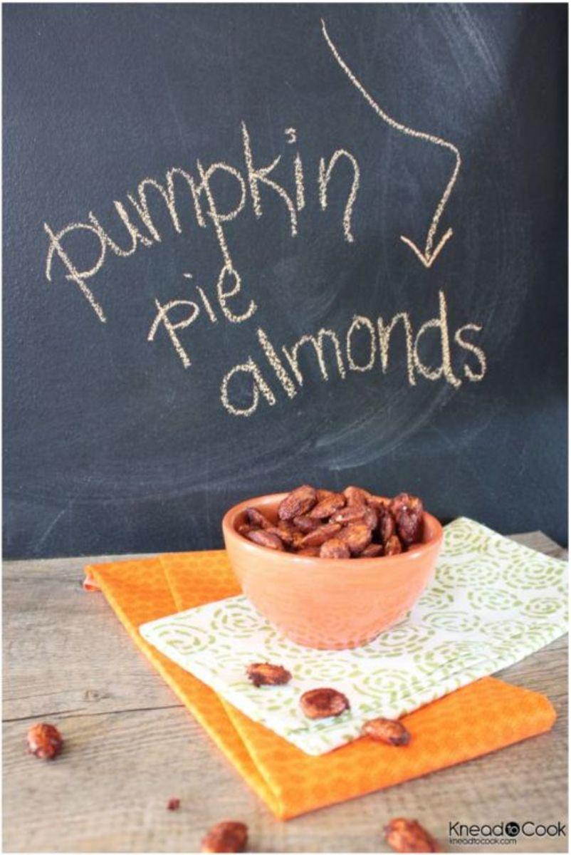 Our Favorite Fall Food Recipes Pumpkin Pie Almonds