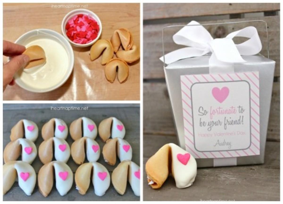 Fortune Cookie Valentines Treat