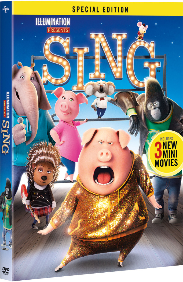 SING Special Edition Digital, DVD, and Blu-Ray Release