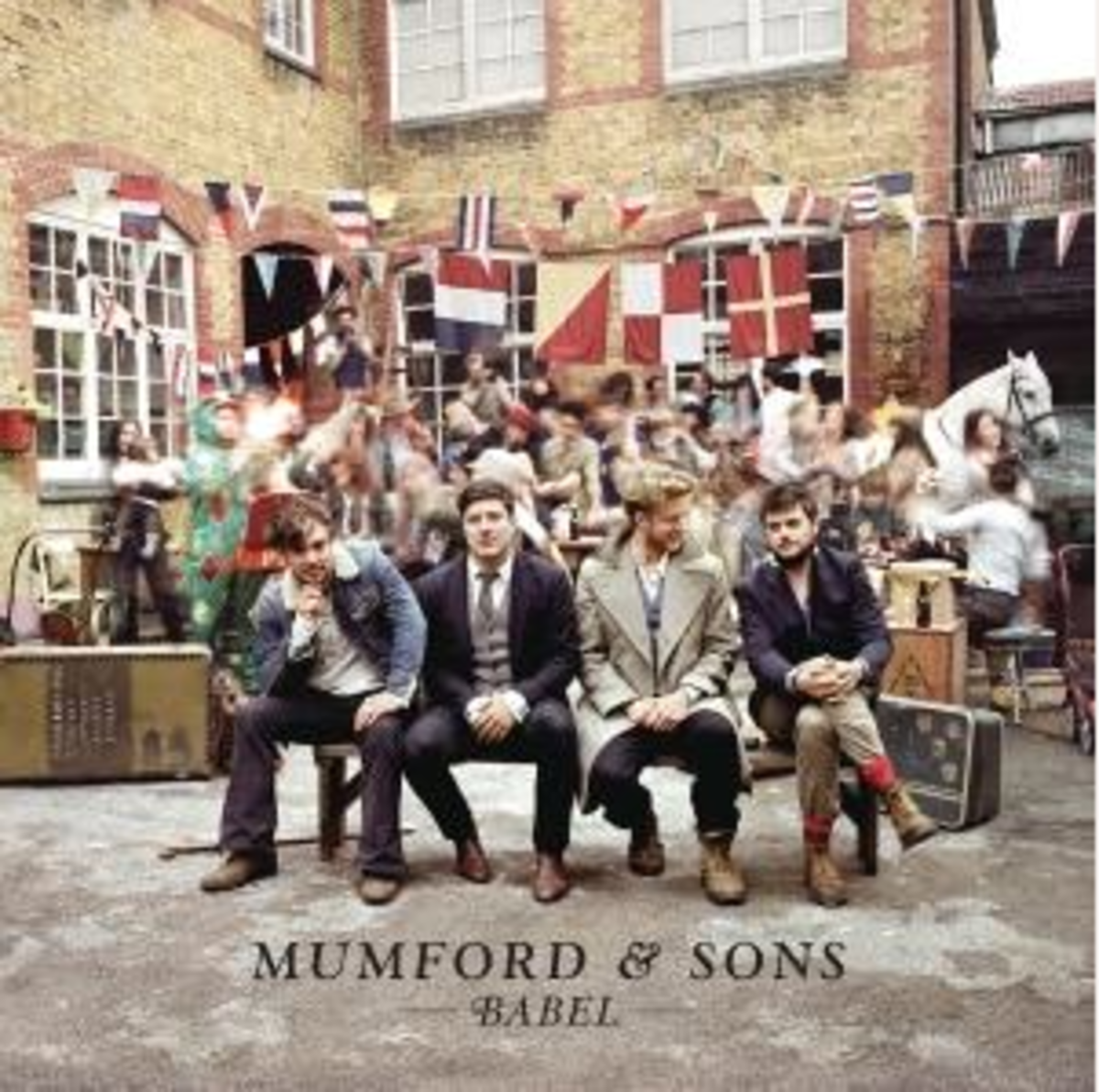 Mumford and Sons Babel Cover Art