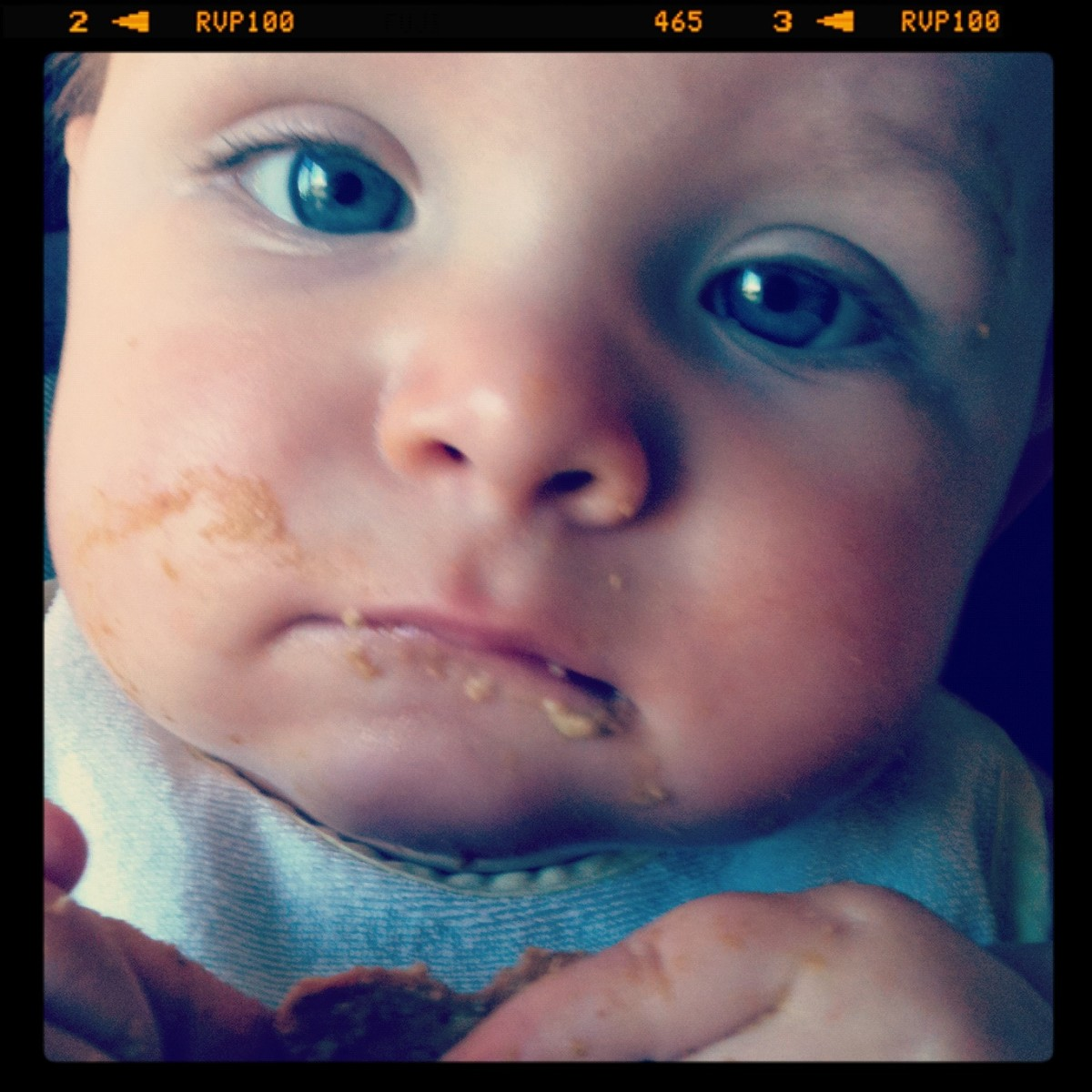 Graham crackers taste better than moms face.