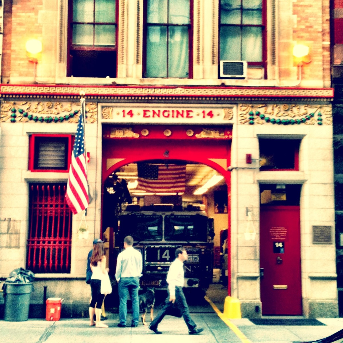 Fire House in NYC