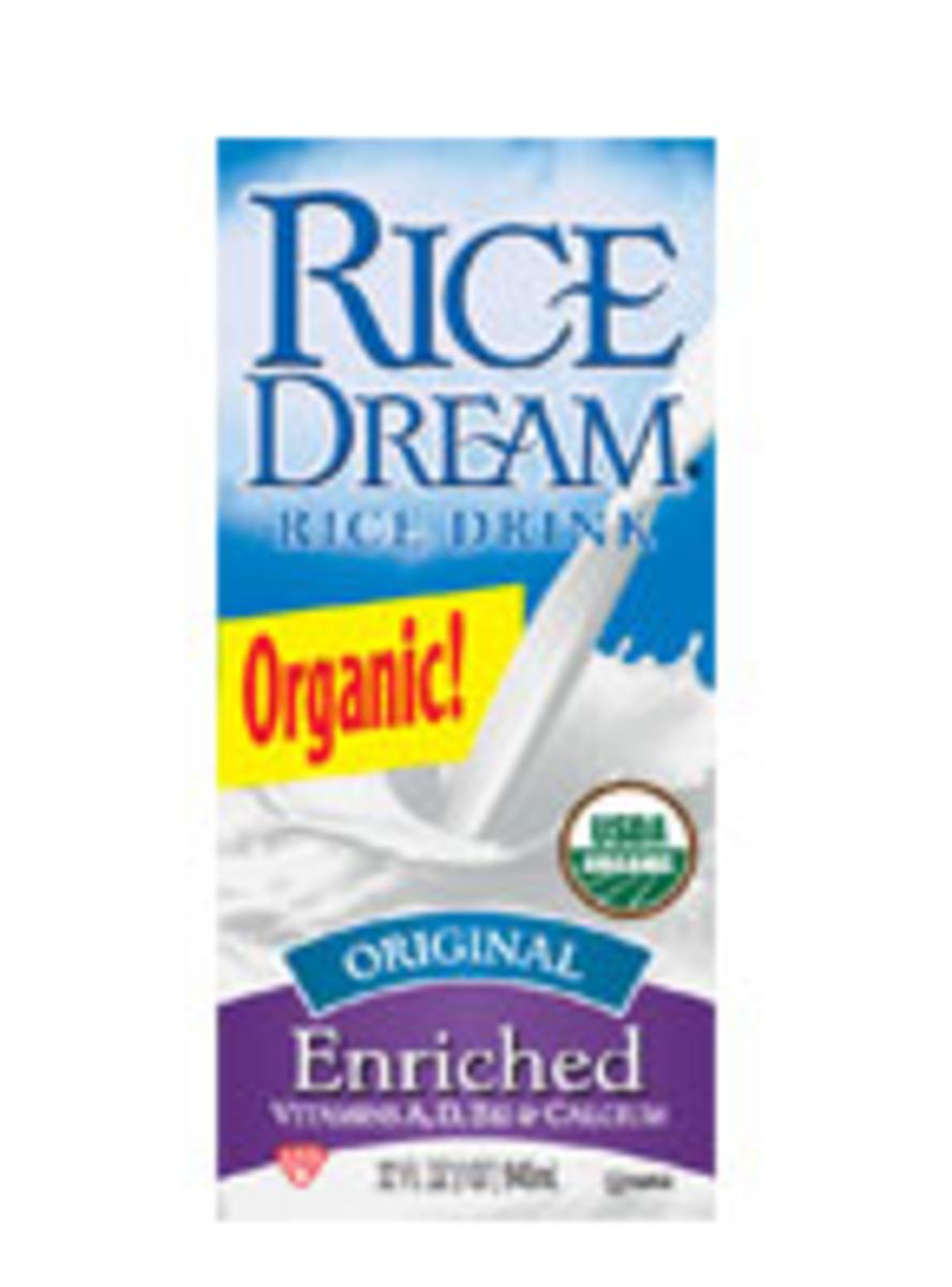 Rice Milk Dairy Alternative