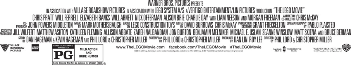 The LEGO Movie Credits