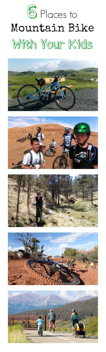 6 Places to Mountain Bike With Your Kids.