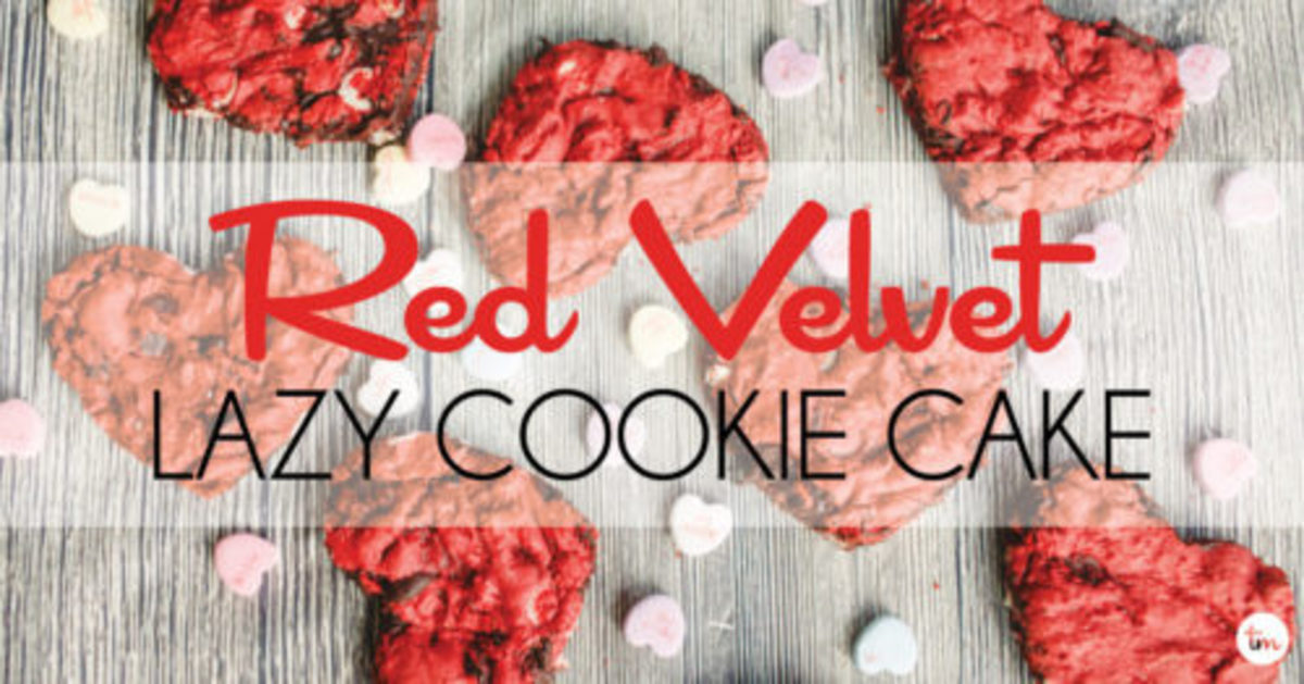 Easy red velvet cake mix cookies double chocolate