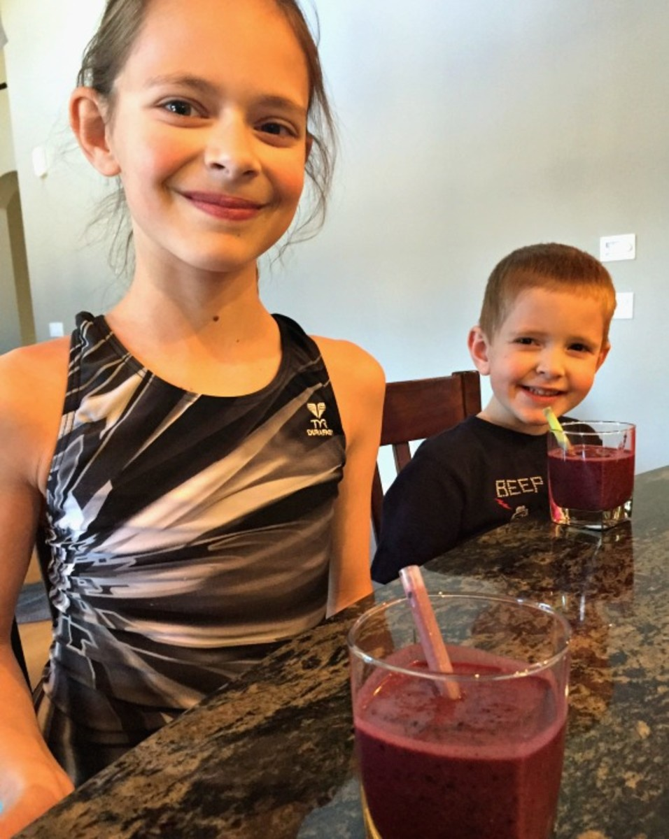 After School Snack - Brain Buster Smoothie #TodaysMama