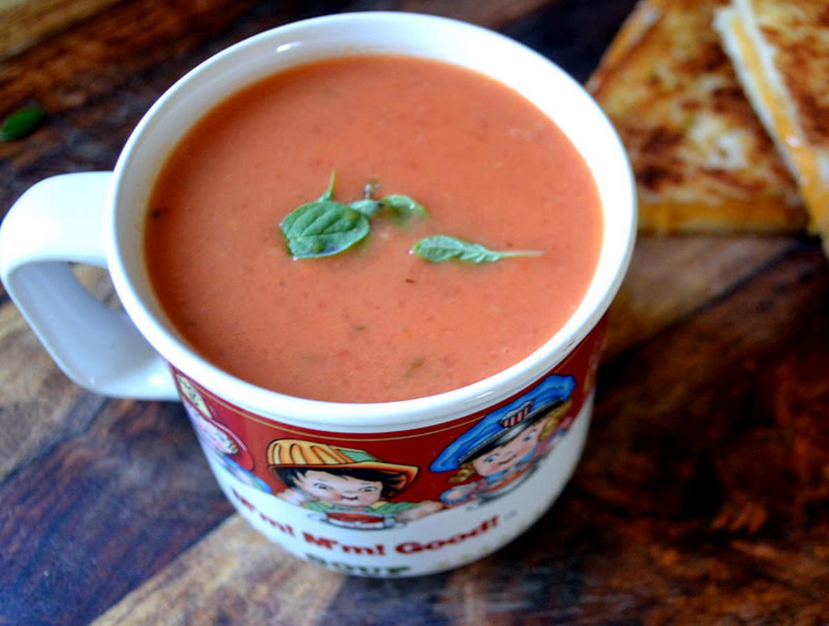 Creamy Tomato Soup | The Little Ferraro Kitchen