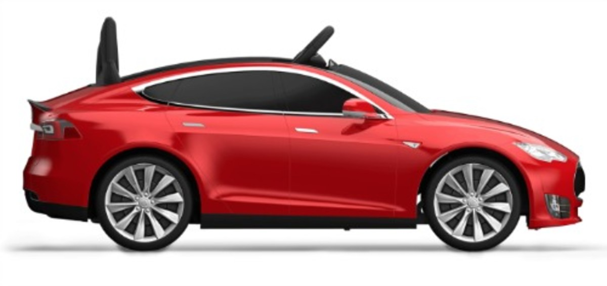 Tesla Model S for Kids by Radio Flyer Giveaway