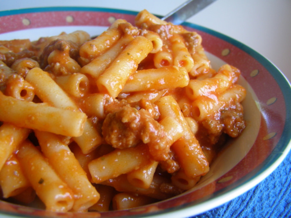 Homemade Beefaroni   Cooking During Stolen Moments