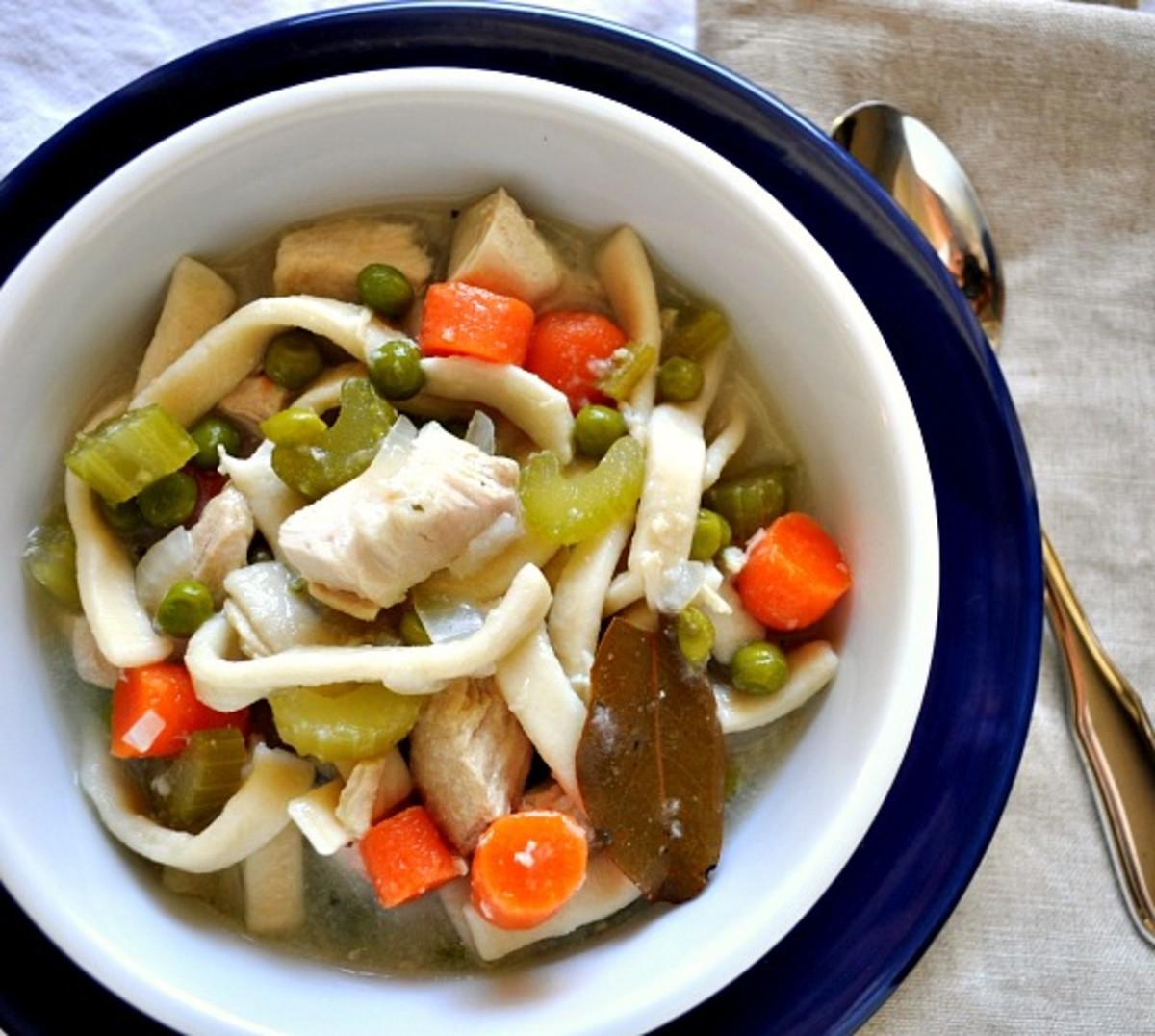 Homemade Chicken Noodle Soup - TodaysMama.com