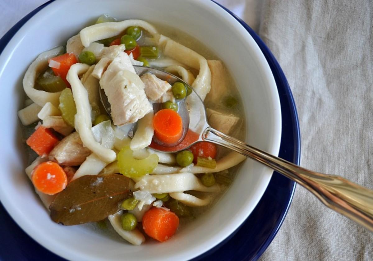 Homemade Chicken Soup - TodaysMama.com