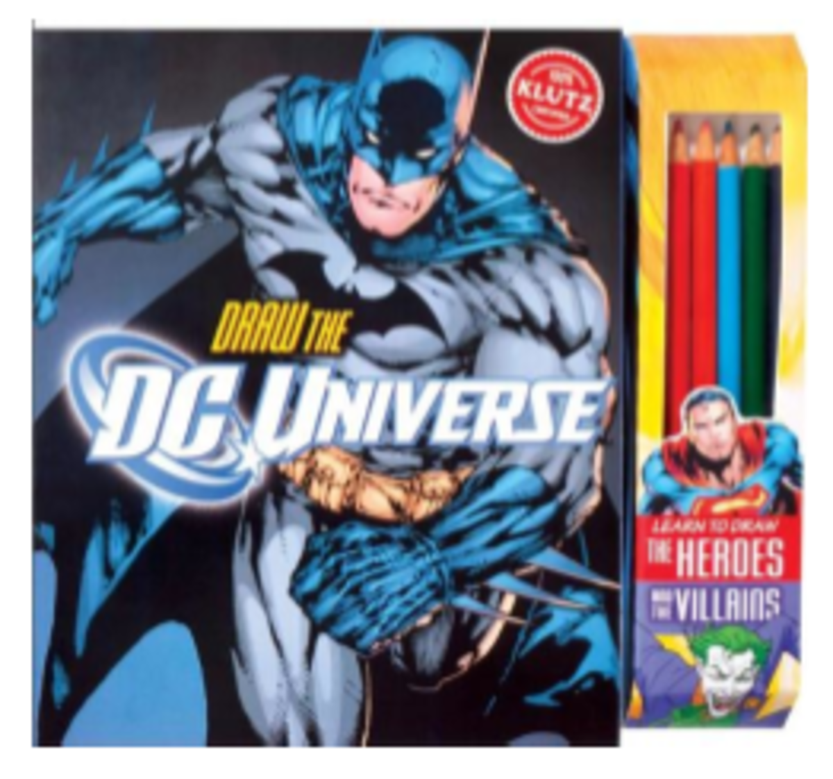 DC Universe Comic Drawing Set