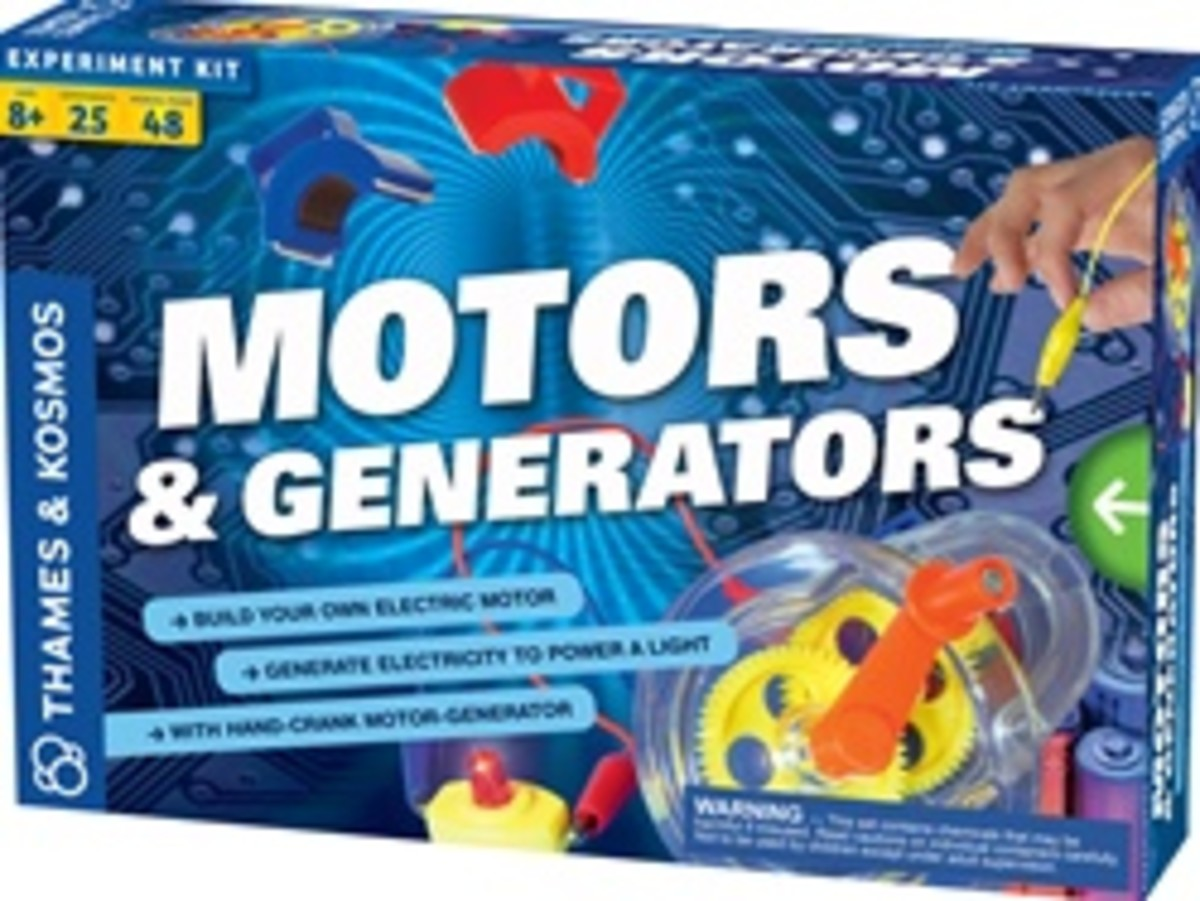 Motors and Generators Education Kit