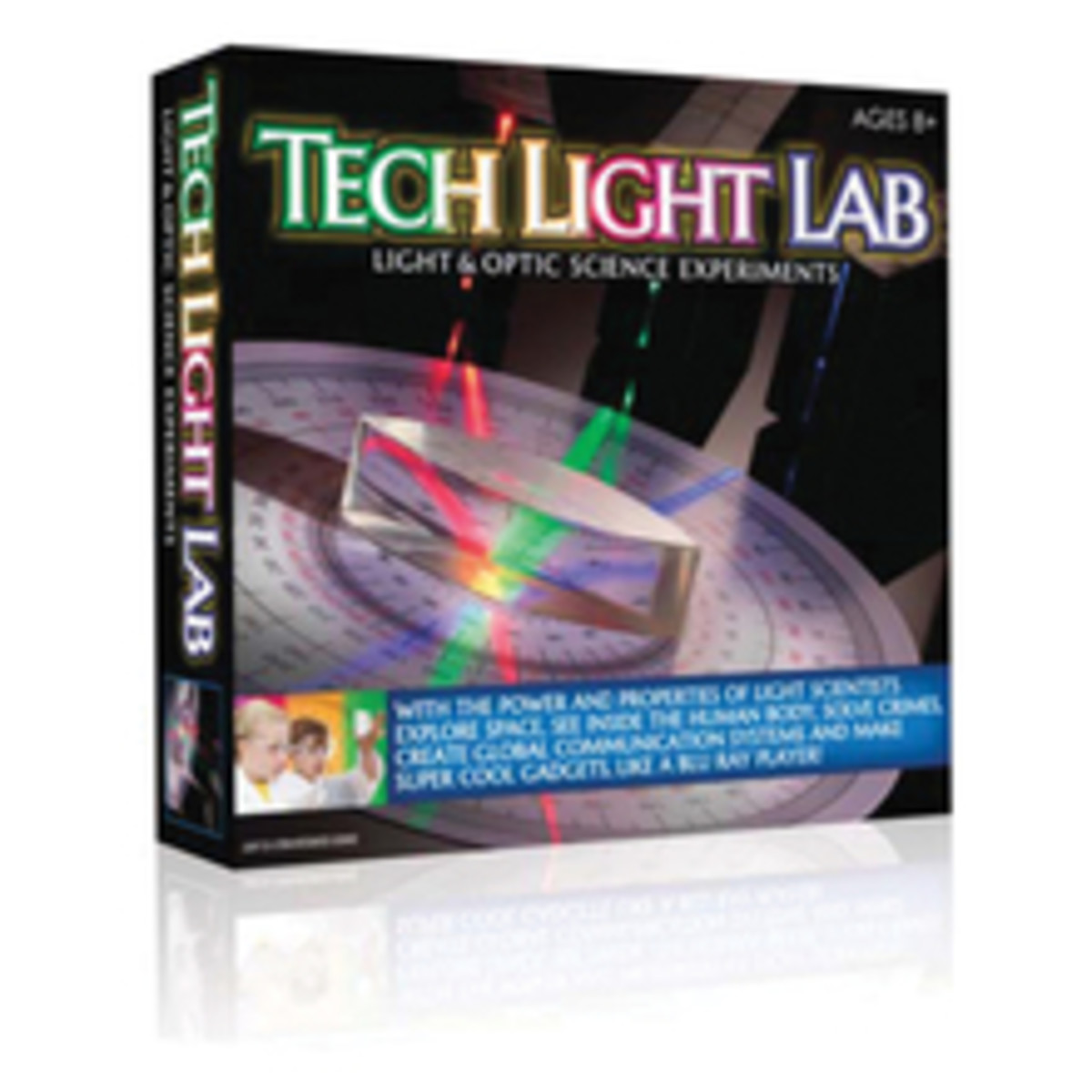 Tech Light Lab Science