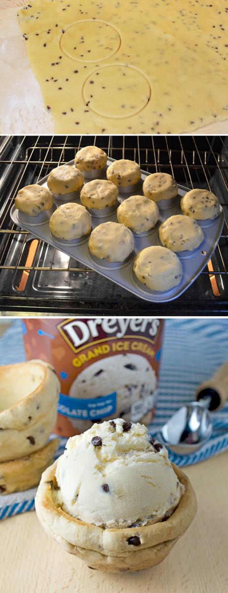 Food Hacks! Chocolate Chip Cookie Bowl