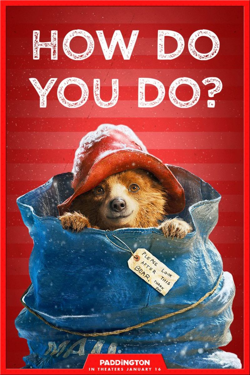 Paddington Giveaway!