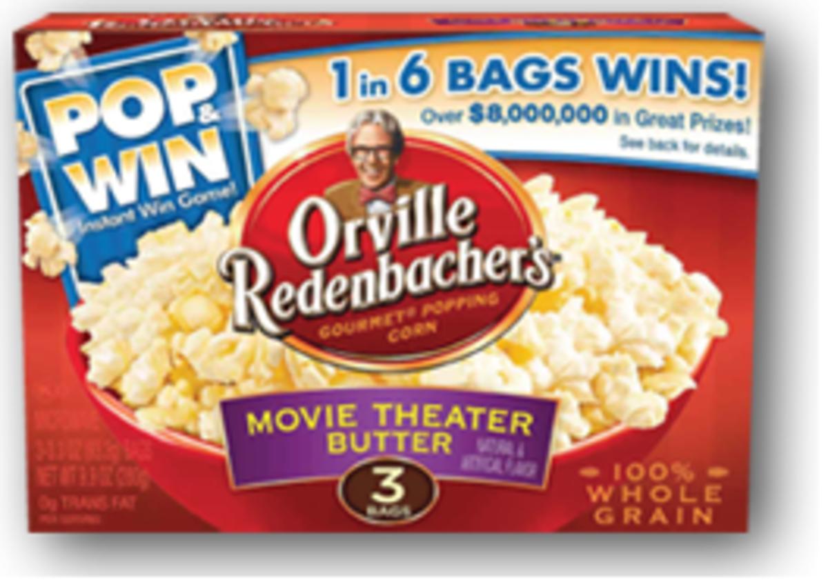 Orville Redenbacher Pop and Win