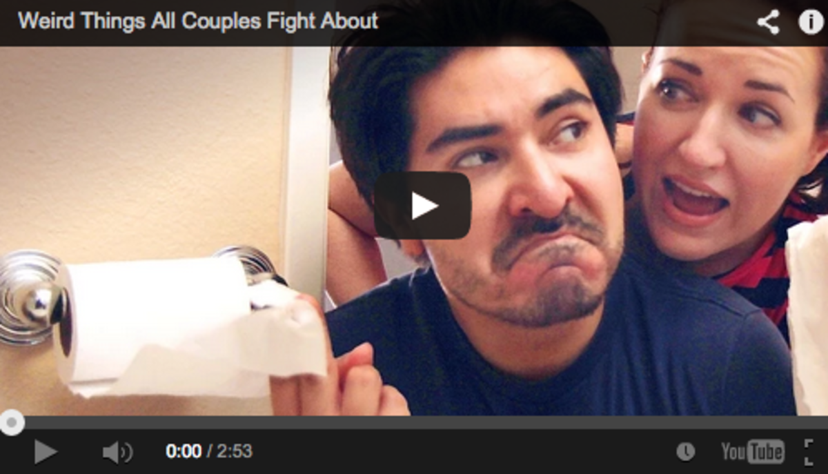 Weird Things All Couples Fight About