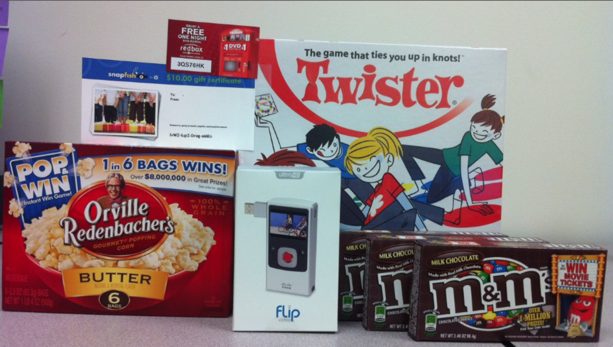 Orville Redenbacher Pop and Win Prize Pack