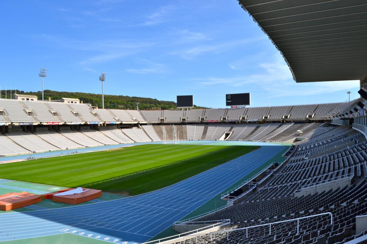 Estadi Olímpic Lluis Companys in Barcelona (Flickr: Oh Barcelona)