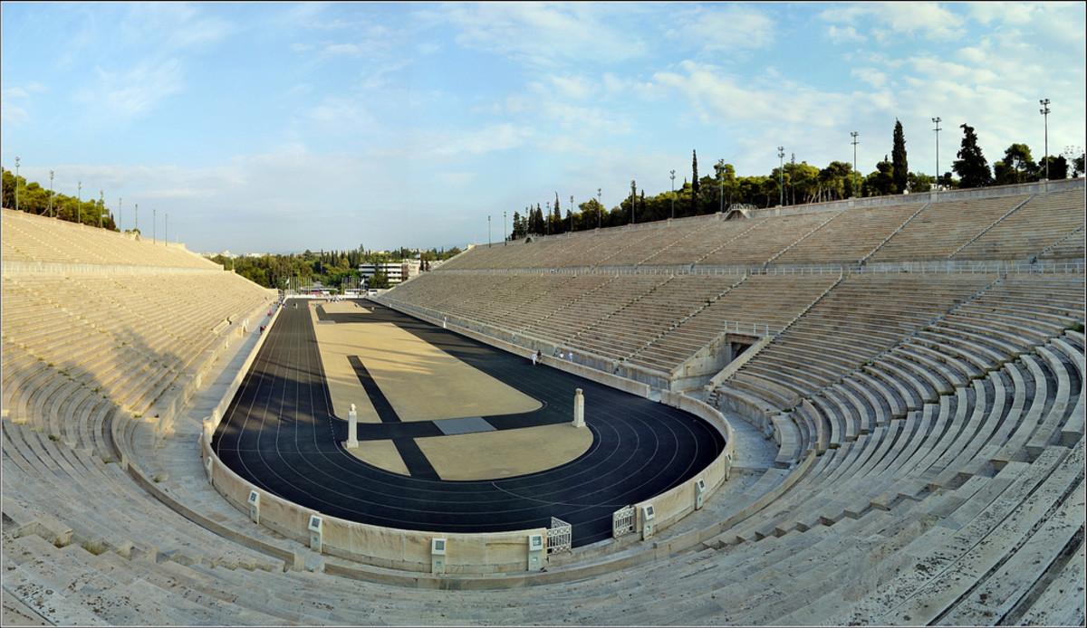Original Modern Olympic Stadium in Athens (Flickr: Robert Pittman)