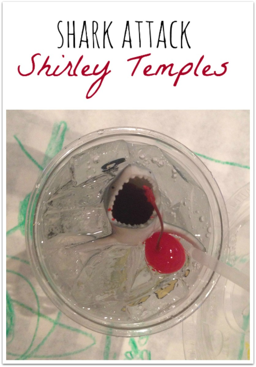 Shark Attack Shirley Temple Drink Recipe