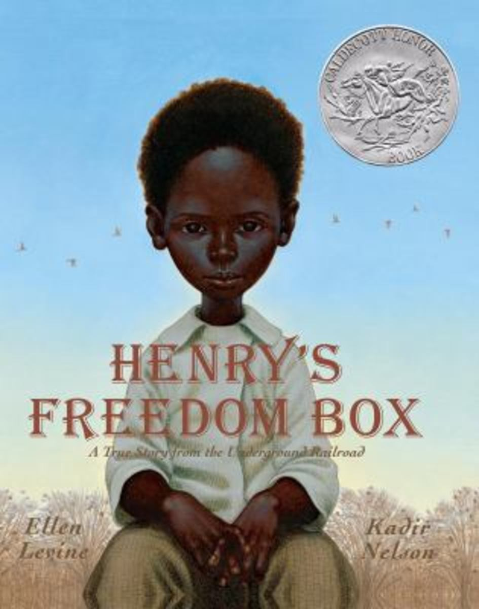 Henry's Freedom Box Black History Month Book Recommendations