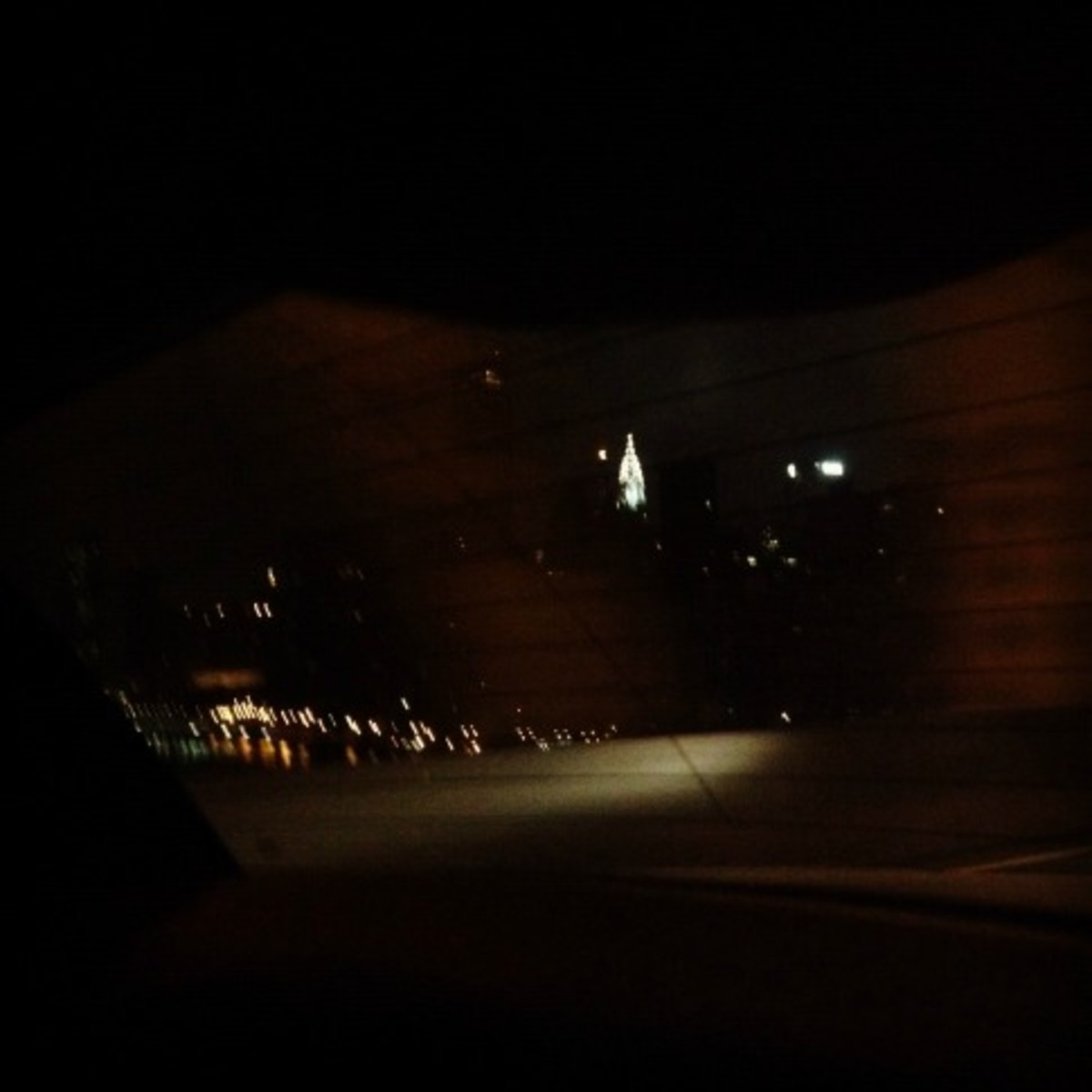 My one and only shot of the Chrysler Building, taken at 3:45 in the morning as I headed home so I could spend Sunday with my family.