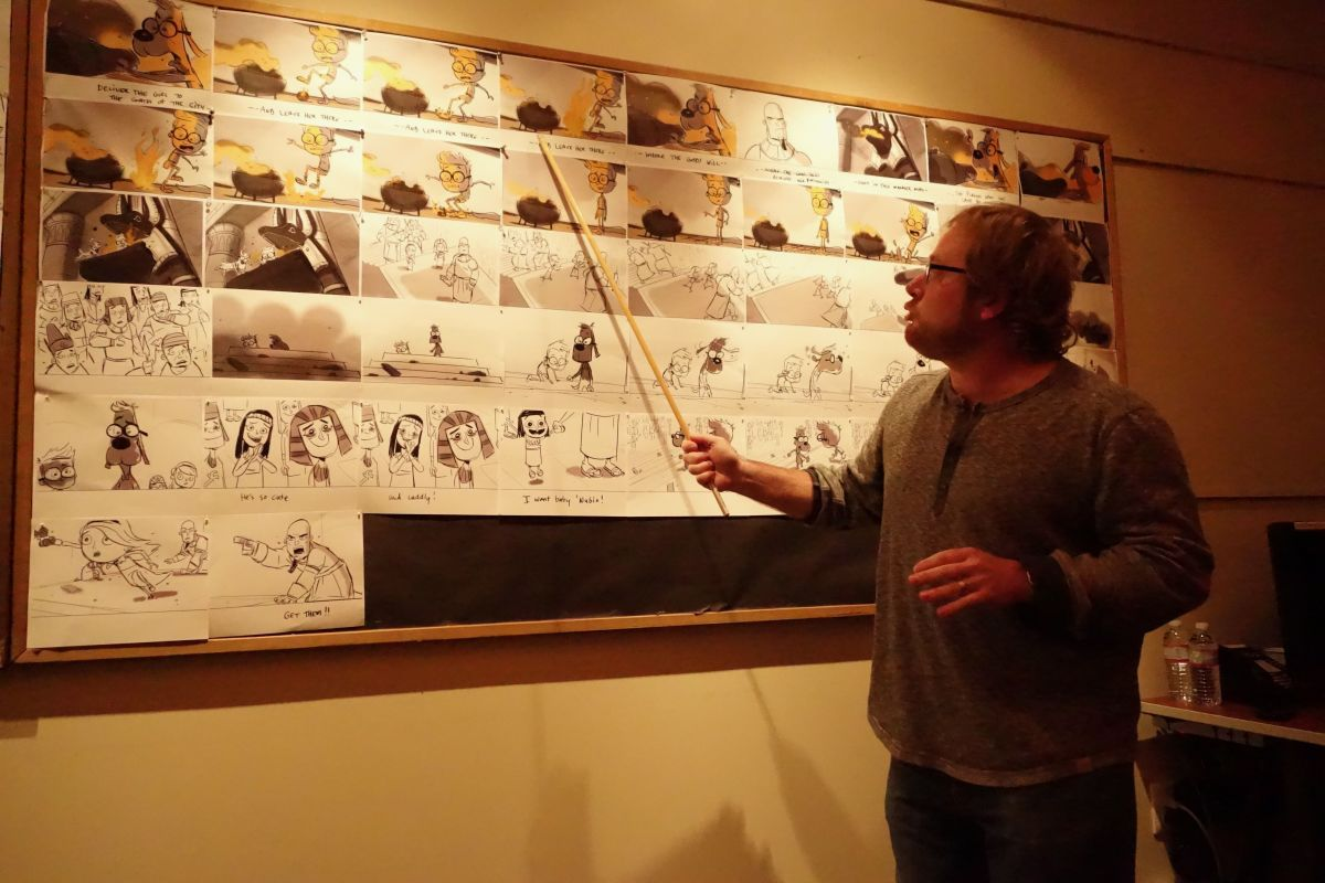 Mr Peabody and Sherman Story Board