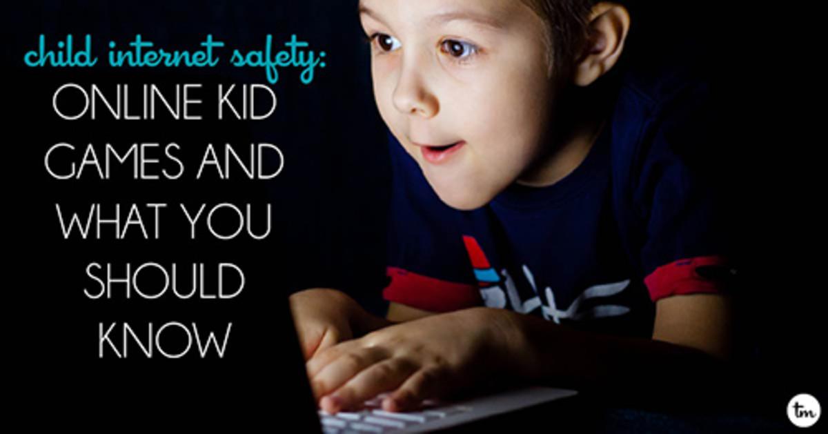 Child Internet Safety Online Games