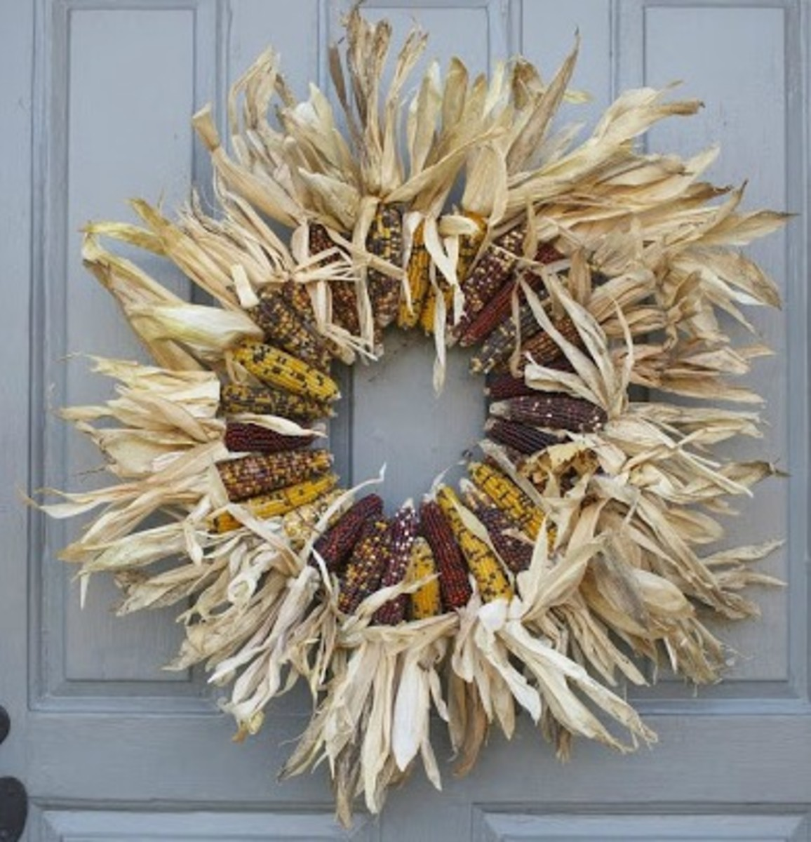 Corn Thanksgiving Wreath