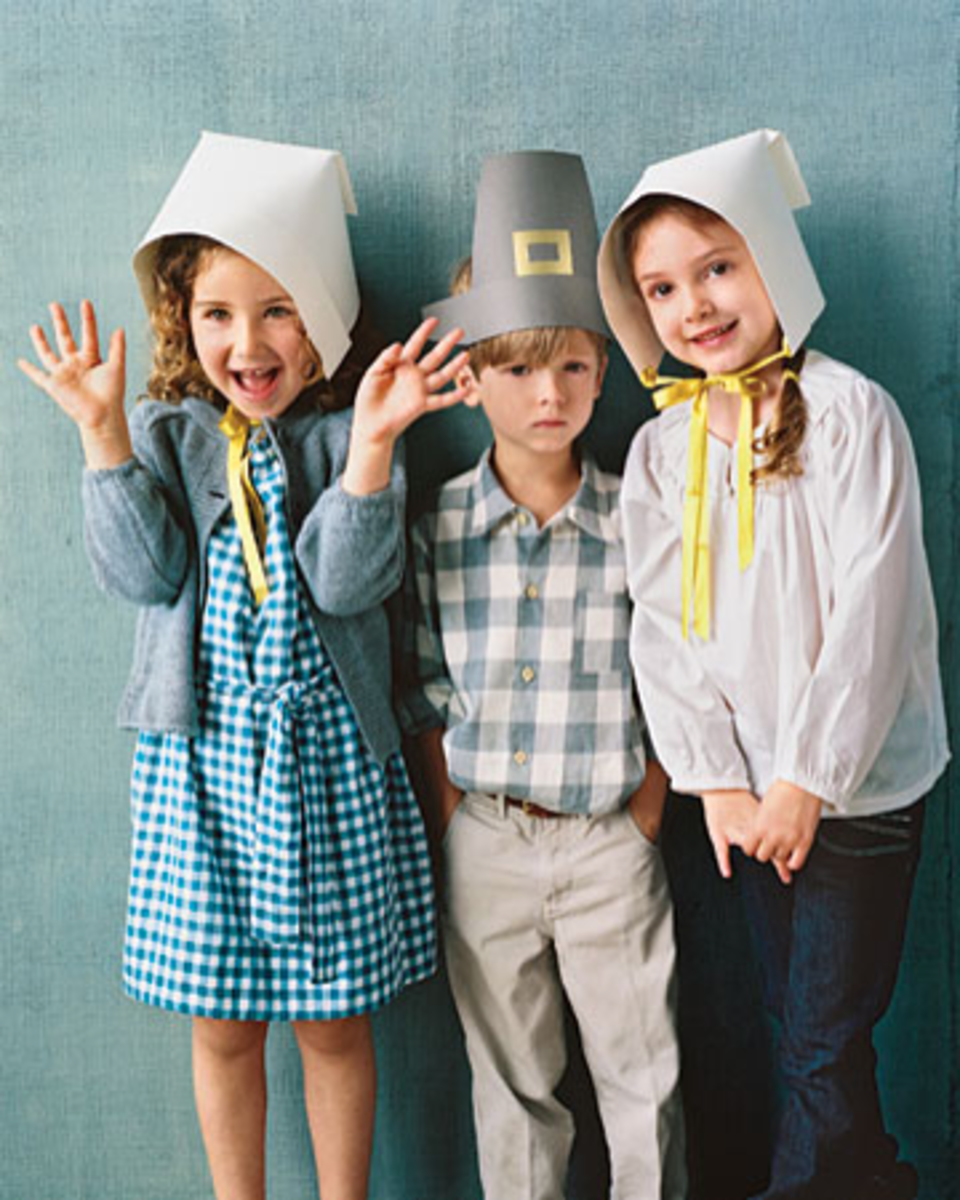paper pilgrim hats