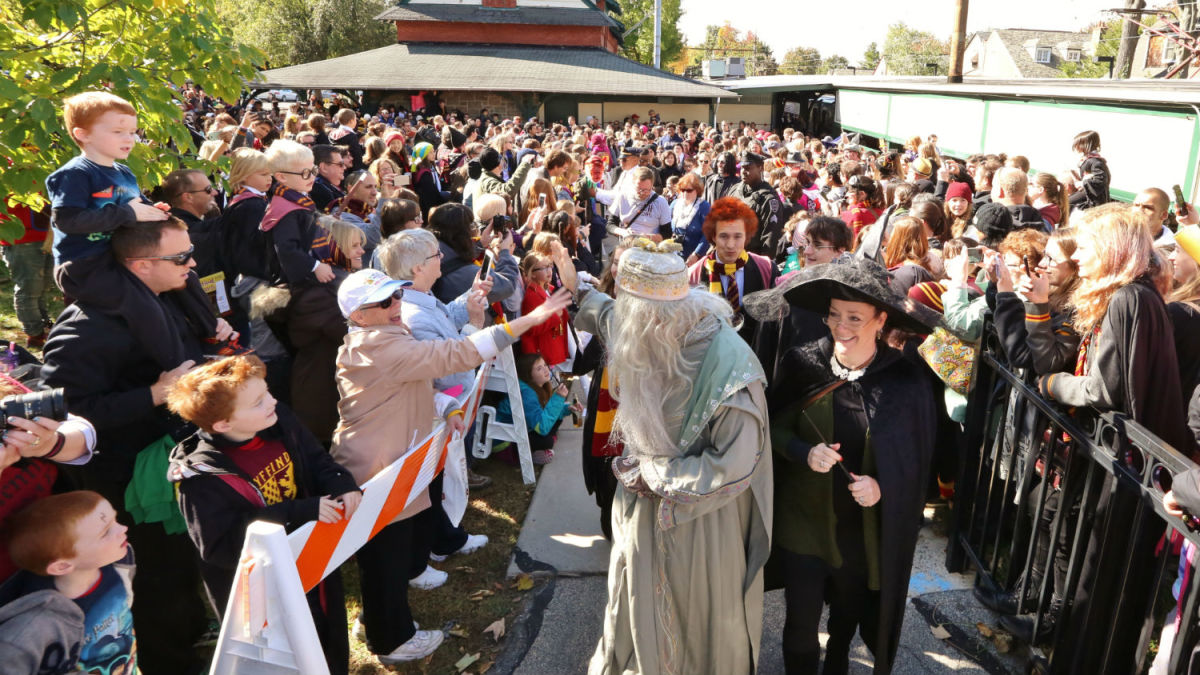 Meet your favorite Harry Potter characters at the Harry Potter Festival. (Courtesy Chestnut Hill Visitors Center)