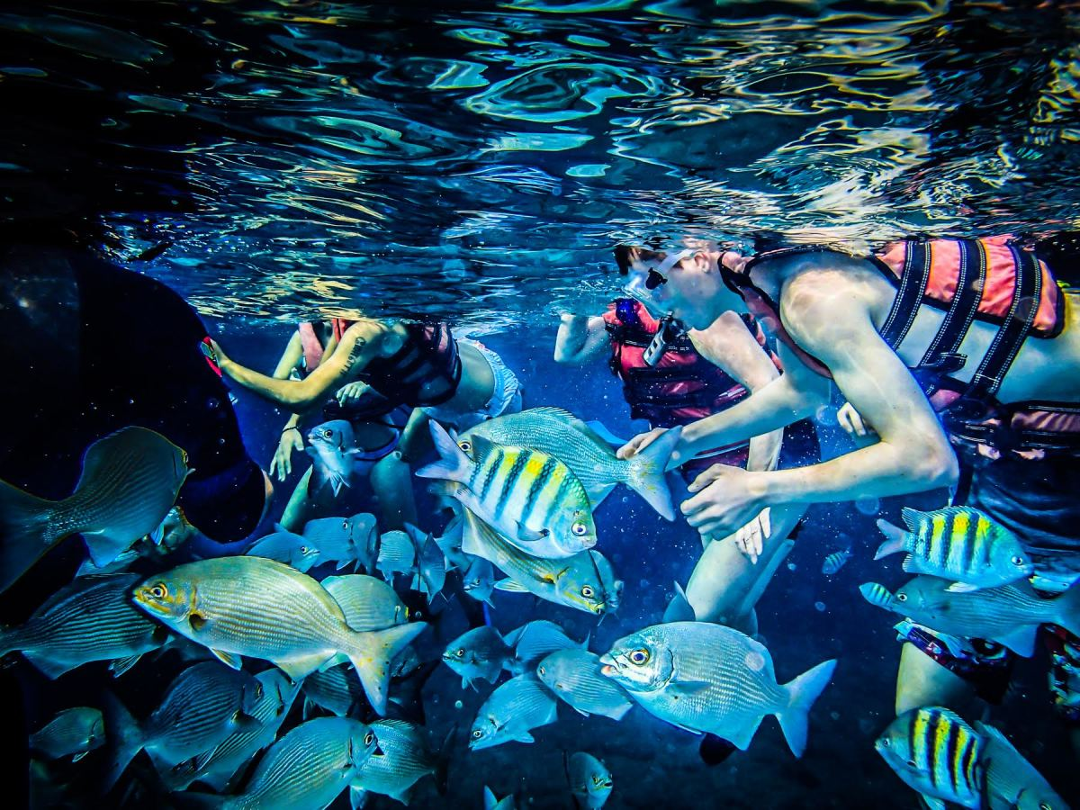 Cuba's Coral Beach is one of the country's most kid-friendly attractions. (Photo: Sandra Foyt)
