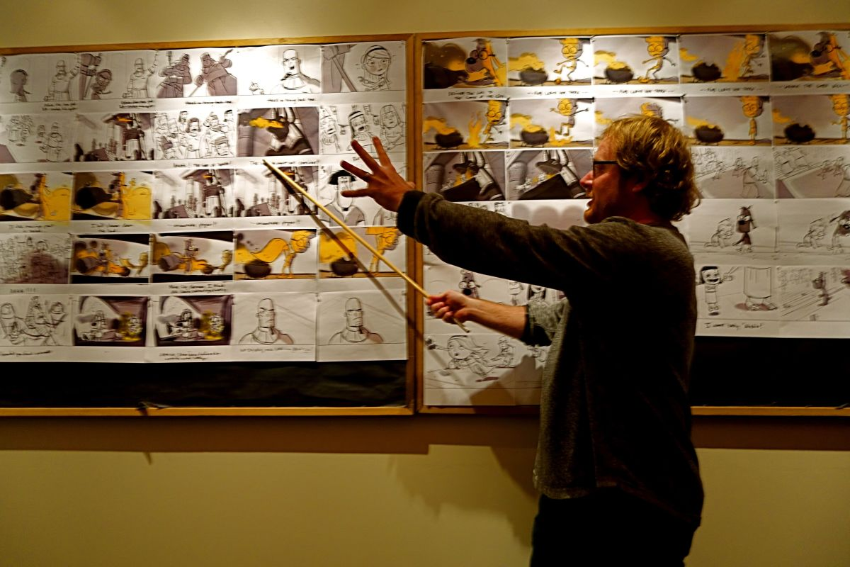 Mr Peabody and Sherman Story Board 2