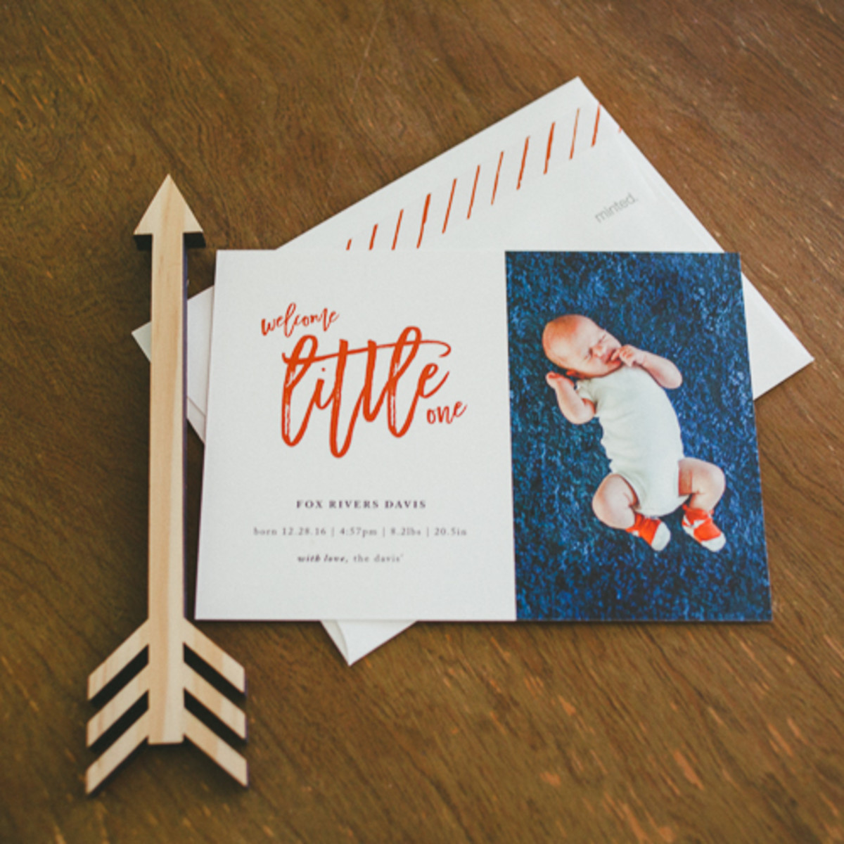 Minted Baby Announcements and Blessing Christening Invitations-4