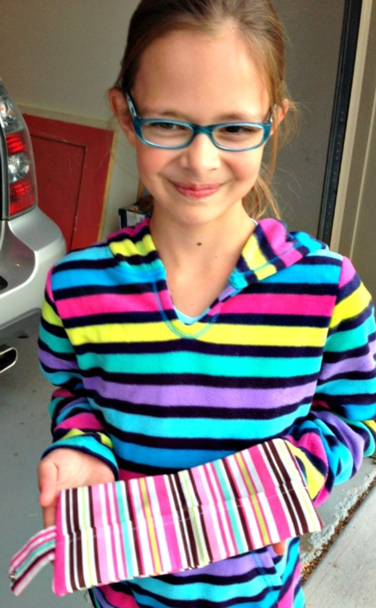My Proud Stripe-Lovin' Seamstress