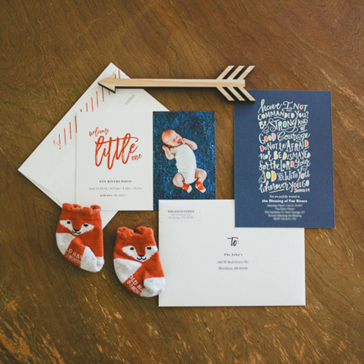 Minted Baby Announcements and Blessing Christening Invitations-10