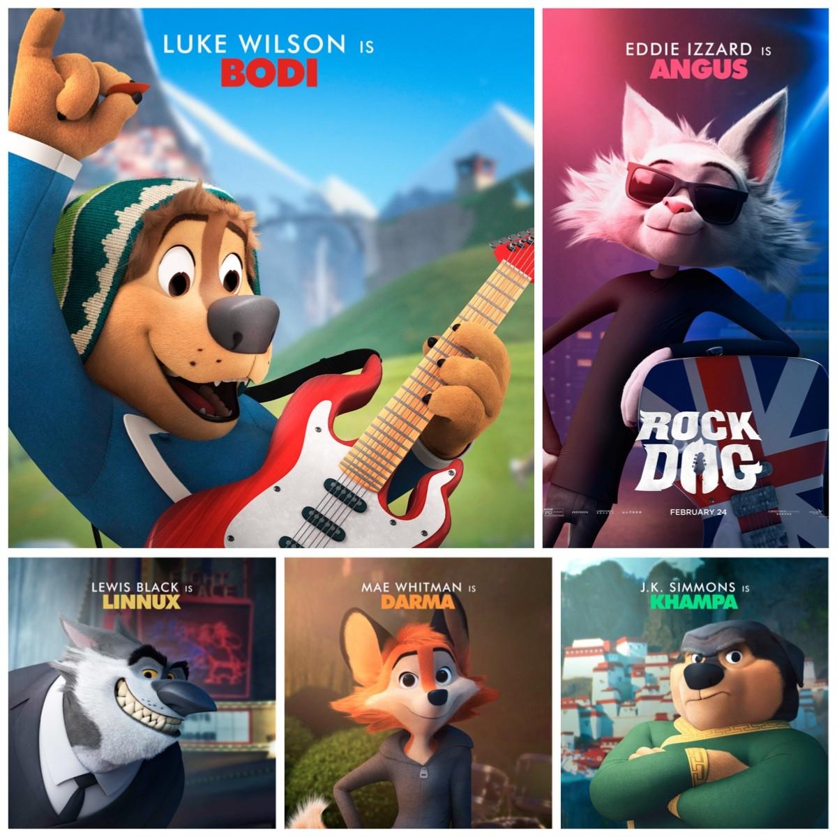 Rock Dog Movie Cast Poster