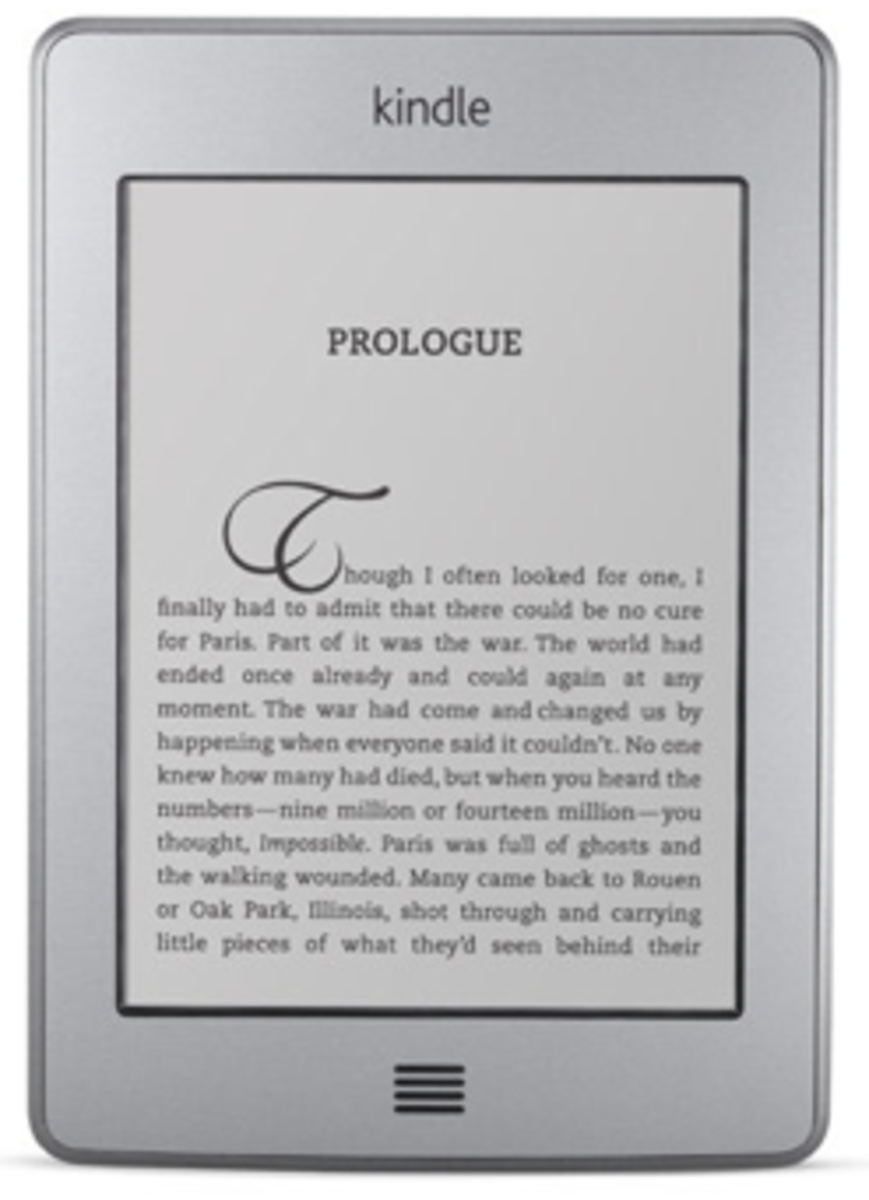 Kindle Touch Holiday Gift