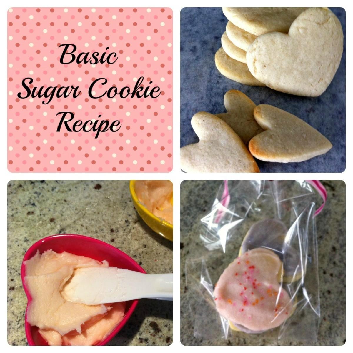 Basic Sugar Cookie Recipe - Steps